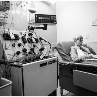 image: an inside look at the life of an inspiring woman's battle with lymphoma and going through treatment as a cancer patient by Alise Kowalski, Chicagoland photographer