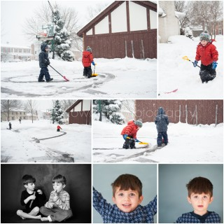 image: collage of our adventures around Chicago and other parts of the world in February 2015 by Alise Kowalski Photography, Chicagoland modern protrait and documentary photographer.