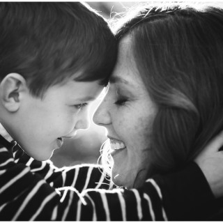 image: a beautiful moment captured between mama and son by Erin Konrath, Chicago photographer.