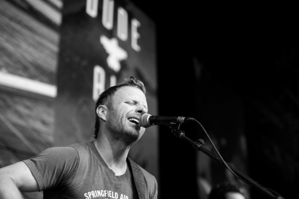 image: special event photography of country music singer Dierks Bentley by Alise Kowalski, Knoxville commercial photographer