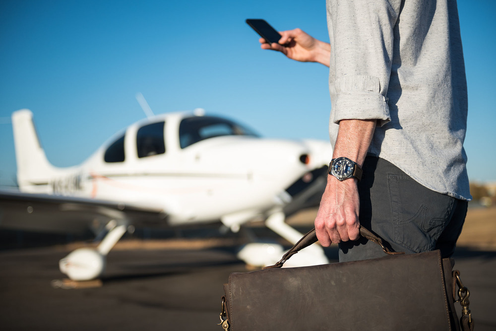 image: commercial product photography featuring the Breitling Aerospace Evo Cirrus Aircraft Limited Edition by Alise Kowalski, Knoxville photographer