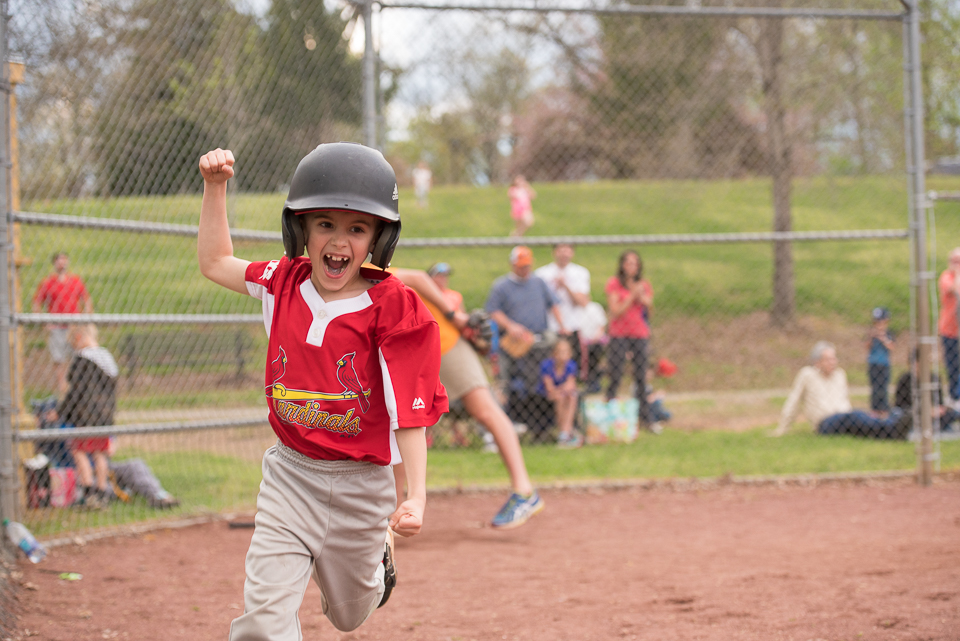 image: KYS little league baseball in Knox County, Knoxville, TN. Play Ball! Action Shots by Alise Kowalski Photography, Knoxville photographer.